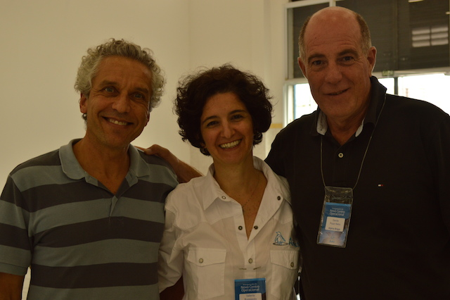 Dr. Ruoppolo with colleagues from Alpina
