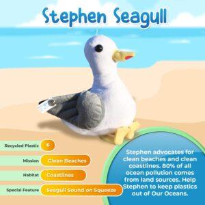 Image of Stephen Seagull plush