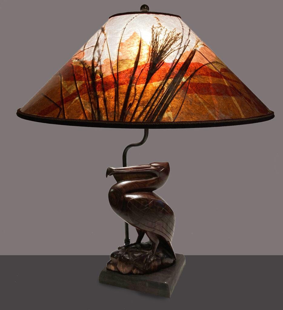 Pelican Lamp from Sue Johnson Custom Lamps