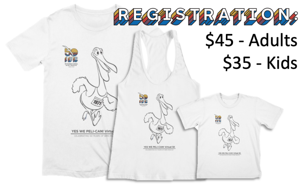 Yes We Peli-CAN! Shirts and Registration Fee